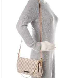 💯% AUTH Louis Vuitton DA Favorite MM
